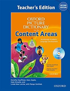 Oxford Picture Dictionary for the Content Areas Teacher's Edition with Lesson Plan CD Pack (Oxford Picture Dictionary for the Content Areas 2e)