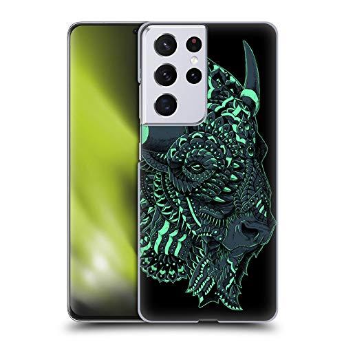Head Case Designs Licenza Ufficiale Bioworkz Bisonte Natura Selvaggia Colorata 1 Cover Dura per Parte Posteriore Compatibile con Samsung Galaxy S21 Ultra 5G