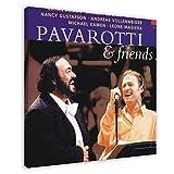 Richard Noel Marx's Album-Cover – Pavarotti & Friends 2