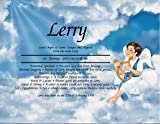 All About You Personalized First Name Meaning Print Gifts and Signs (Heavenly Boy I)