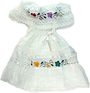Mexican Infant Dress White Size 0 Dress Day of The Dead Coco Theme Party Halloween Party