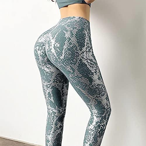 ShFhhwrl Mujer Leggins Leggings Sin Costuras Deporte Mujer Fitness Push Up Yoga Pantalones De Cintura Alta Entrenamiento Correr Ropa Deportiva Mallas De Gimnas
