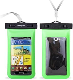 DandyCase Waterproof Case for Apple iPhone 5, Galaxy S4, HTC One, iPod Touch 5 - Also fits other Large Smartphones up to 5.3