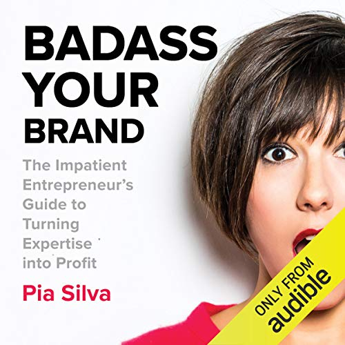 Badass Your Brand audiobook cover art