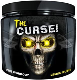 Cobra Labs The Curse Weight Loss Supplement, Lemon Rush, 0.55 Pound