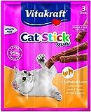 Vitakraft - 24192 - Cat Stick Mini Dinde / Agneau P/3 lot de 20