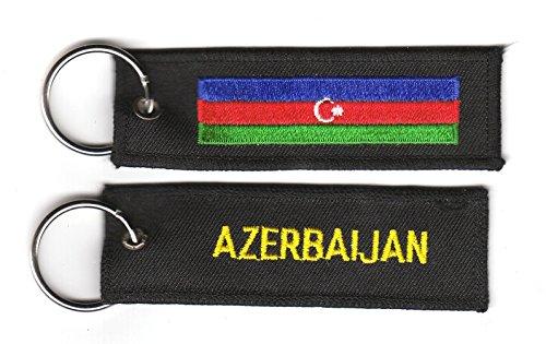Schlüsselanhänger Aserbaidschan Anhänger Fahne Flagge