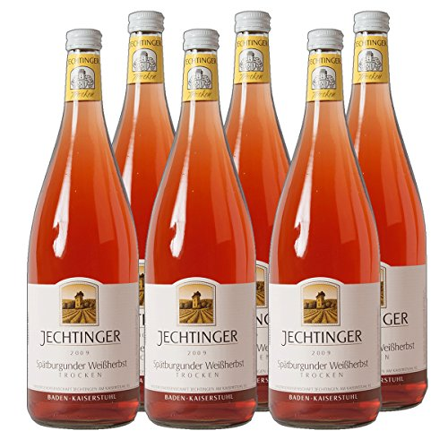Jechtinger Spätburgunder - Weißherbst Baden Rosé Liter 2019 halbtrocken (6x 1 l)