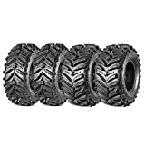 Maxauto Set of 4 ATV Tires 27x10-12 Front & 27x12-12 Rear AT Mud Sand All-Terrain Tires ATV 6 PLY Tires
