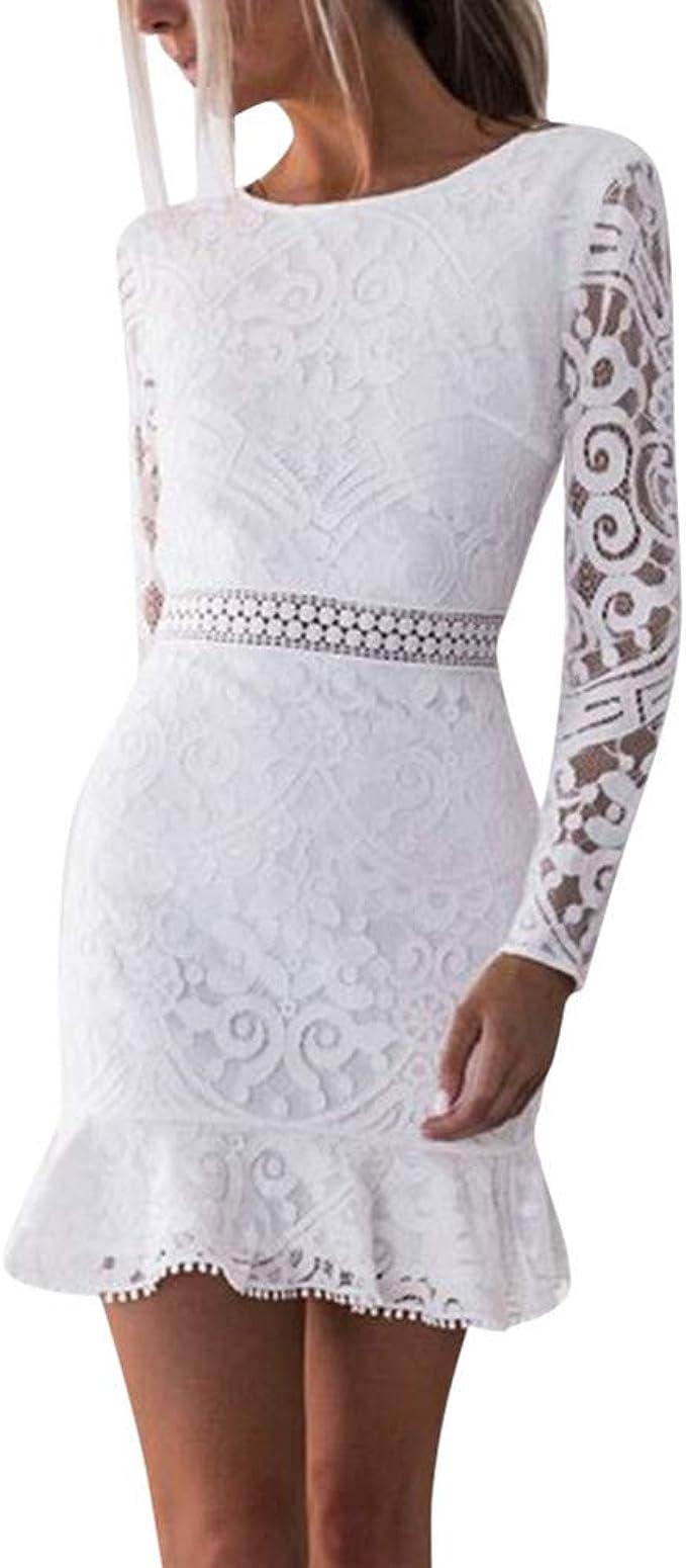 Weiß spitzenkleider kurz Spitzenkleider für
