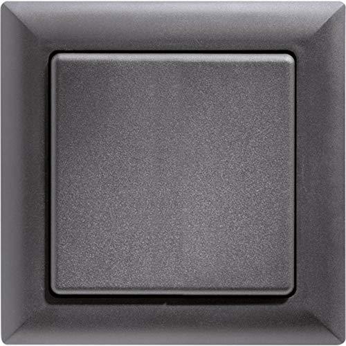 Eltako FT55-AN draadloze knop, batterij- en snoerloos met wip/dubbele wip, 1 stuks, antraciet