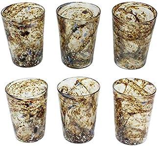 Juego de 6 vasos Venere - Cristal de Murano original