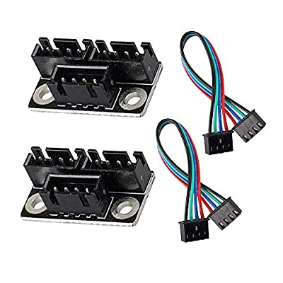 Furiga 3D Printer Stepper Motor Parallel Module with W Cable for Dual Z Axis Reprap Prusa Lerdge Board Parts and Accessories 2PCS