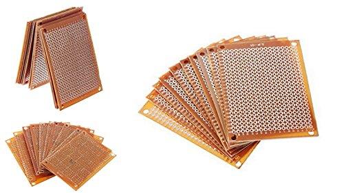 Confezione da 10 basette millefori per prototipo PCB per Kit circuito Protoboard Breadboard 4112