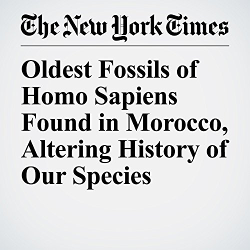 Oldest Fossils of Homo Sapiens Found in Morocco, Altering History of Our Species copertina