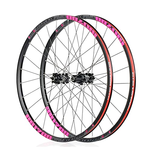 VTDOUQ 26'27.5' mountain bike wheelset disc brake with quick release 8 9 10 11 Speed ​​Sealed Bearings Hub