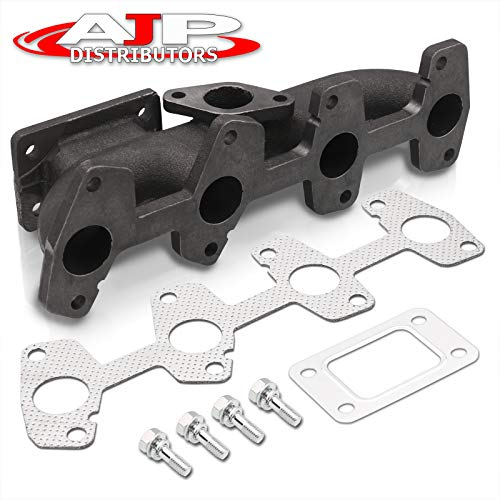 AJP Distributors Flange Cast Iron Turbo Manifold For Chevy Cavalier S10 2.2L Engine T3 T3/T4