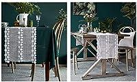ホームダイニングのテーブル ランナー、家の装飾 Table Mat ホームキッチンテーブルランナーホワイトレースフラワー刺繍テーブルランナーヨーロッパドレッサースカーフマンテルシェルフドイリーウェディング上品なヴィンテージ刺繍テーブルランナー 美しく、リラックスできる住まい LLNN (Size : 38*200cm)