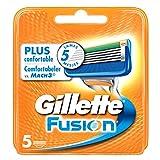 Ancienne Version/Gillette Fusion Lames De Rasoir Pour Homme - 5Recharges