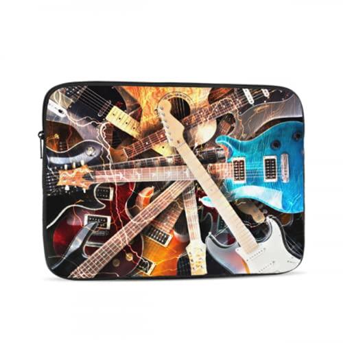 Estuche Blando para computadora portátil Jazz Rock Cool Guitarra eléctrica para niño...
