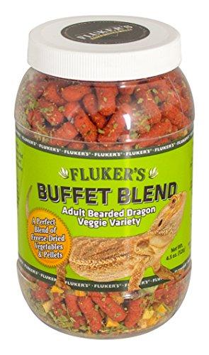 Fluker's Buffet Blend Adult Bearded Dragon Veggie Variety Diet