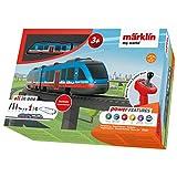 Märklin 29307 My World ‐ Startpackung Airport Express, Modelleisenbahn für Kinder ab 3 Jahre, Licht-und Soundeffekte, mit Bausteinen, akkubetrieben, Spur H0 -