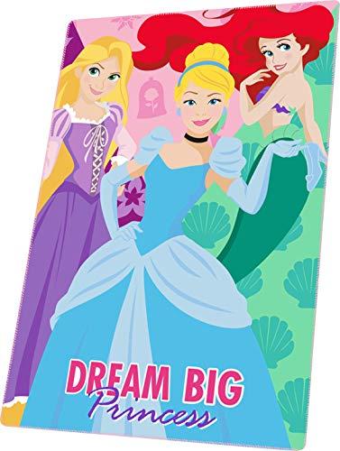 Kids Licensing Coperta in pile Disney Principesse   Coperta per bambini   Coperta in pile da principesse   Coperta Disney   Dimensioni: 150 x 100 cm   300 g