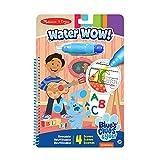 Melissa & Doug-Blue's Clues & You Water Wow-Alfabeto, Multicolor (33000)