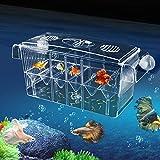 Aquarium Ablaichkasten Klein GroßMultifonctionnel hautement transparent Boîte de nidification de