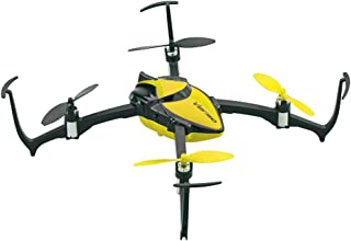 Dromida Verso Ready-To-Fly Radio Controlled Electric-Powered Inversion Drone with Radio System, Batteries and Charger (Yellow)
