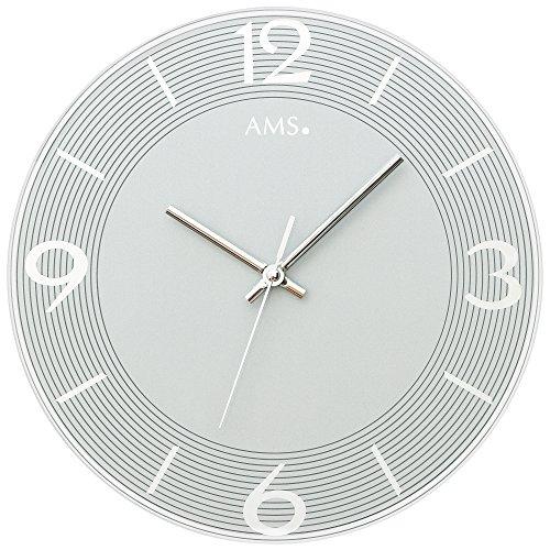 AMS Wanduhren modern 9571