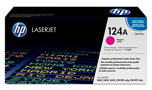 HP Q6003A Toner Magenta 124A -Originalware neutral umverpackt