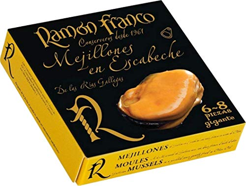 Ramón Franco Riesenmuscheln 6/8 Stück. [PACKUNG MIT 24 DOSEN]