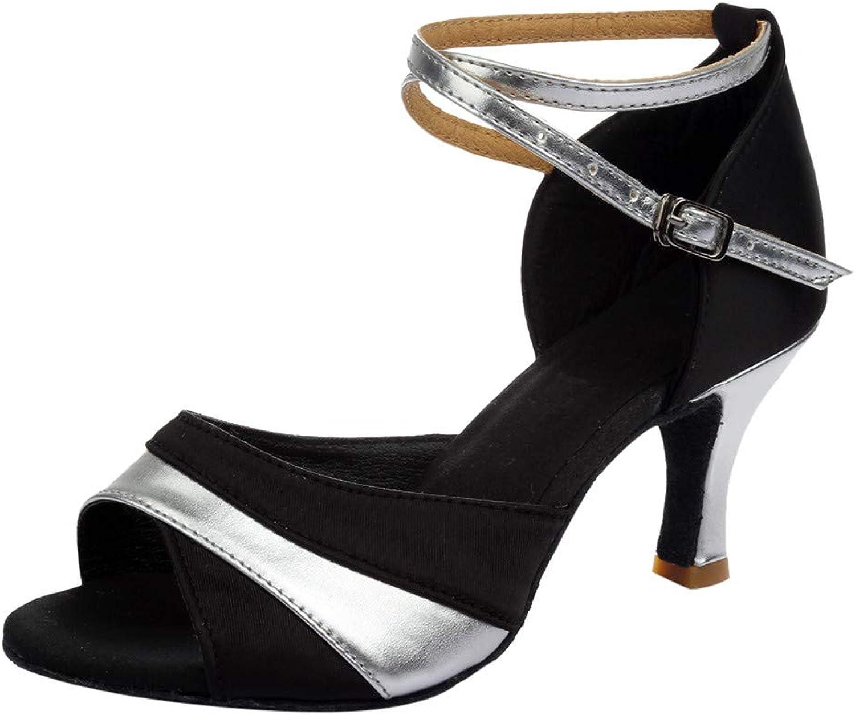 BOLUOYI 2019 Party Wear Heels for Women Women Ladies Dancing Rumba Waltz Prom Ballroom Latin Ballet Dance Singles shoes