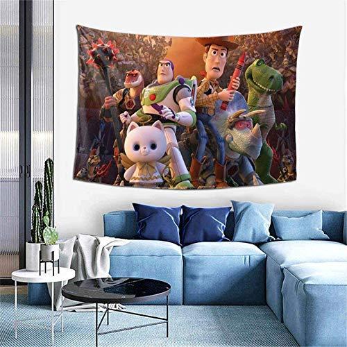 Toy Story Tapisserie Wandbehang Dekoration für Wohnung Home Art Wandteppiche für Home Decorative Schlafzimmer Kunst Wandteppiche