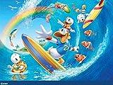 1000-teiliges Puzzle für Erwachsene Kinder Donald Duck