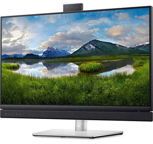 Dell 27 Video Conferencing Monitor - C2722DE with POP-UP 5MP IR Camera Dual 5W Integrated Speakers and a Dedicated Microsoft Teams Button