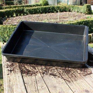 Stabile Universalwanne ohne Bodenlöcher für Pflanzen und Anzuchten Anzuchtschale - Aussaatschale