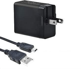 TOP+ New USB AC/DC Adapter + USB Charging Cable for BlueAnt Supertooth Light III 3, Bluetooth Headset X5 X5i, S1 Sun Visor BTSVBC3 BTSLBC3 Bluetooth Hand Speaker Phone Speakerphone Charger PSU