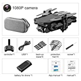 Foldable Mini RC Drone, with 0.3 MP / 5.0 / 4K HD Camera, 2.4 GHz Anti-Interference Technology, Drone in Altitude Hold Mode