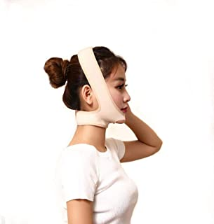 XIANWEI Face-Lifting Bandage Masque Facial Perte Poids Masque Visage Masque Double Menton Soins Perte Poids Beaute Ceinture