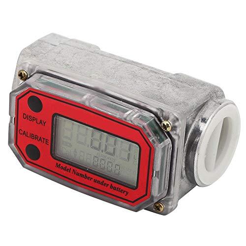Diesel Fuel Flow Meter Digital Turbine Flow Meter Turbine Flow Meter Turbine Flow Meter Flow Meter(Red LLW-25)