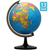 Best World Globes - KingSo World Globe, 13'' Globe of Perfect Spinning Review