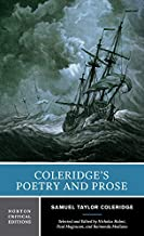 Coleridge's Poetry and Prose (First Edition) (Norton Critical Editions)