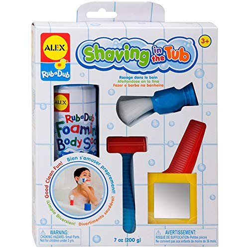 ALEX Toys Rub a Dub Shaving in The Tub Shaving Kit