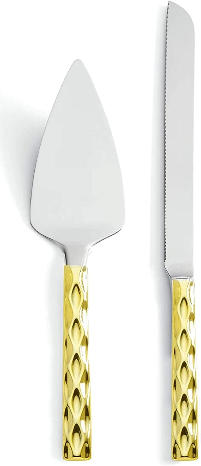 Ranking TOP14 Michael Wainwright Truro Gold Cake Knife Outlet sale feature Server and Set