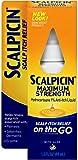 Scalpicin Maximum Strength Scalp Itch Liquid Treatment- For Relief From Itchy Scalp, Psoriasis, Eczema & Seborrheic Dermatitis With Hydrocortisone & Aloe Vera, 1.5 oz
