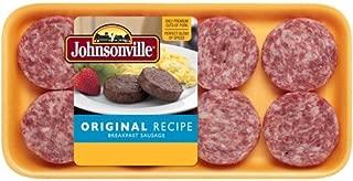 JOHNSONVILLE SAUSAGE BREAKFAST PATTIES ORIGINAL 12 OZ PACK OF 3