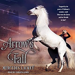 Arrow's Fall audiobook cover art