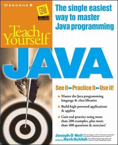 Teach Yourself Javaの詳細を見る